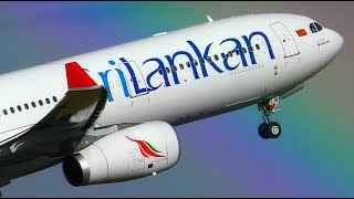 Download INAUGURAL   SriLankan Airlines A330-300 Landing Takeoff & WATER SALUTE ● Melbourne Airport Video