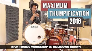 Download TUNE YOUR BASS DRUM QUICK & EASY! - Kick Tuning Workshop Video