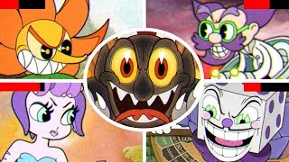 Download Cuphead - All Bosses with Healthbars Video