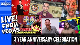 Download 🔴 LIVE 🎉 3 Year Anniversary Special💰 $1450++ @ Cosmo Las Vegas ✪ BCSlots Video