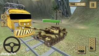 Download Army Cargo Tank Transport SIM - TITAN TANK Railroad Transport Game For Kids FHD Video