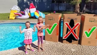 Download DON'T Push the Wrong MYSTERY BOX in the Water!!! Video