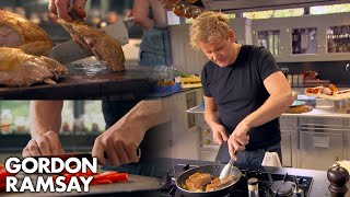 Download Gordon Ramsay Demonstrates Basic Cooking Skills | Ultimate Cookery Course Video