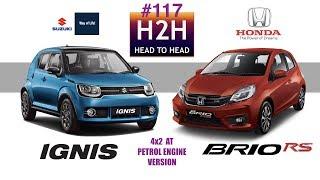 Download H2H #117 Suzuki IGNIS vs Honda BRIO RS Video