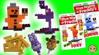Download Complete Set Of Five Night's At Freddy's 8-Bit Figures + Bonus Golden Freddy Video