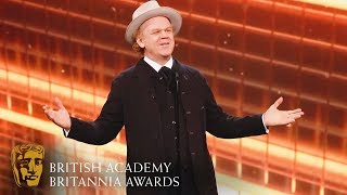 Download John C. Reilly Pays Tribute to Steve Coogan with Funny Speech | 2019 BAFTA Britannia Awards Video