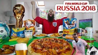 Download THE ONE-MAN WORLD CUP SNACK PARTY (12,000 CALORIES) | BeardMeatsFood Video