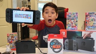 Download Nintendo Switch Unboxing + Review Video