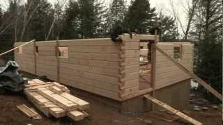 Download Discovery Dream Homes Log Assembly Video