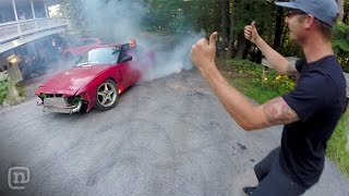 Download Fun & Games At Ryan Tuerck's Home Drift Car Garage: Garage Tours w/ Chris Forsberg Video