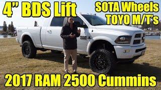 Download LIFTED 2017 Ram 2500 MEGA Cab!! 4″ BDS Lift, Fenders, SOTA Wheels, Toyo MT's! Cummins Diesel! Video