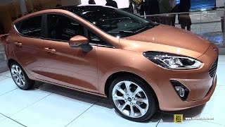 Download 2018 Ford Fiesta - Exterior and Interior Walkaround - Debut at 2017 Geneva Motor Show Video