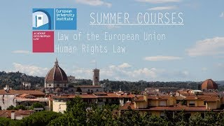 Download Academy of European Law (EUI): Summer Courses in Florence Video