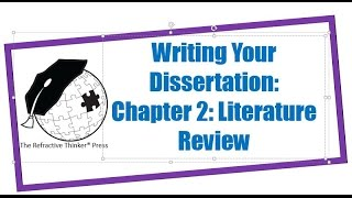 Download Dr. Cheryl Lentz: Chapter 2: Literature Review Writing Tips Video