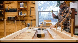 Download Making A Simple Ladder Shelf From Hickory Video