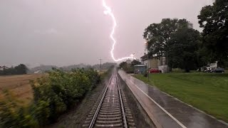 Download Gewitterfahrt Garching - Tittmonig-Wiesmühl HD Video
