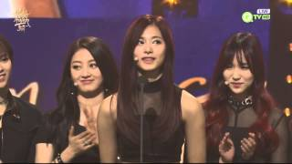 Download [ENG sub]160121 TWICE @ The 30th Golden Disk Awards Mina & Tzuyu part 1080p Video