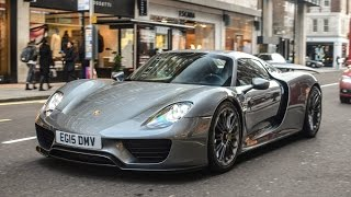 Download London Supercars 2016: Veyron Super Sport, 918, GT12, GTO, Ford GT... Video
