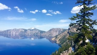 Download Hiking at Crater Lake National Park Video