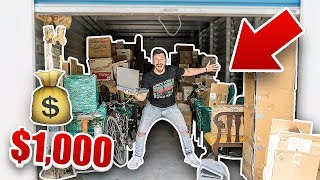 Download I Bought a $1000 Abandoned Storage Unit and Found This.. (FIRST EVER MACBOOK PRO) Video