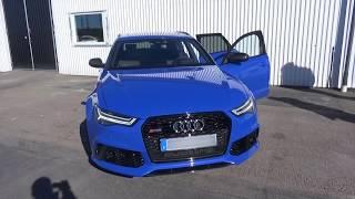 Download Audi RS6 Performance 2016 ¨BRUTAL!!' 'Milltek' Full Version 4K Video