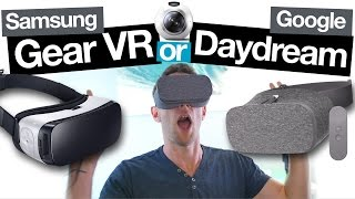 Download Samsung Gear VR vs Google Daydream View: Best Smartphone VR Headset? Video