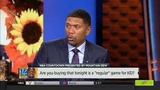 Download Is it a ″Regular Game″ For Kevin Durant vs Thunder tonight? | NBA Countdown | Nov 22, 2017 Video