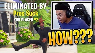 Download When Fortnite Pro Players Get Outplayed (Ninja, Tfue, Myth & More!) Video