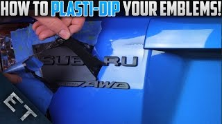 Download How To Plasti Dip Emblems/Badges on Your Car | Step By Step Guide Video