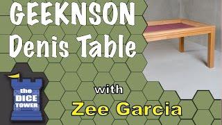 Download GEEKNSON Denis Table Review - with Zee Garcia Video