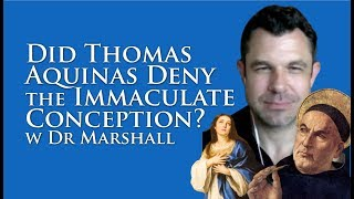 Download Did Saint Thomas Aquinas Deny the Immaculate Conception? Video
