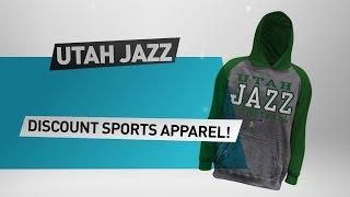 Download Utah Jazz Discount Sports Apparel // NBA Merchandise Video