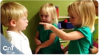 Download Little Boy Gets His Heart Poked Arguing About Rain Video