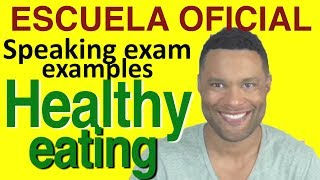 Download SAMPLE ENGLISH SPEAKING TEST: Healthy eating. Video