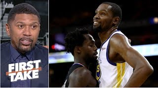 Download Kevin Durant needs to stop beefing with Patrick Beverley - Jalen Rose | First Take Video