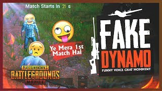 Download PUBG MOBILE LIVE | FAKE DYNAMO IS HERE 😂 🤣 | CONQUEROR PLAYER ACTING LIKE NOOB Video