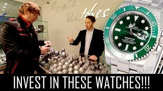 Download THE BEST INVESTMENT WATCHES YOU CAN BUY!! Video