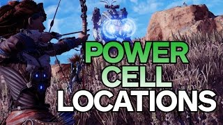Download Horizon Zero Dawn: All Power Cell Locations - Best Way to Play Video