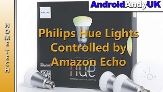 Download Philips Hue Lights Controlled by Amazon Echo Video