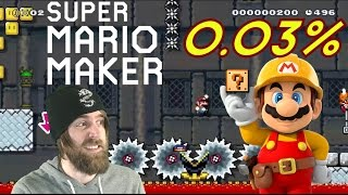 Download 99% IMPOSIBLE #2 by ZetaSSJ | 0.03% P-Switch Massacre | Super Mario Maker Video
