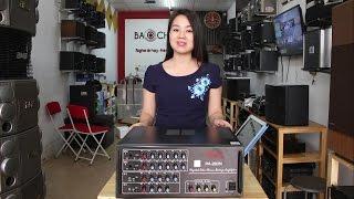 Download Khám phá Amply Jarguar 203N Komi - Amply Jarguar PA 203n Hàn Quốc chính hãng Video