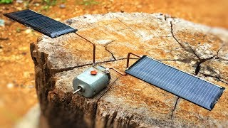 Download Free Energy 100% , How Make Solar Using DC Motors Generator With Light Bulb Video