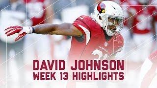 Download David Johnson's Explodes with 175 Total Yards! (Week 13 Highlights) | Redskins vs. Cardinals | NFL Video