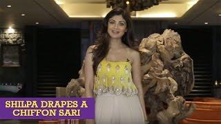 Download How To Tie A Sexy Bollywood Sari Like Shilpa Shetty Kundra Video