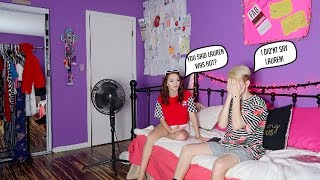 Download I CALLED MY GIRLFRIEND ″Lauren″ INSTEAD OF HER NAME! (PRANK) (SHES MAD!) Video