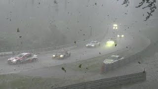 Download 24h Nürburgring Nordschleife Chaos Crash & Red Flag snow rain and ice Video