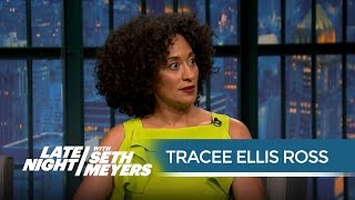 Download Tracee Ellis Ross Talks Being Put on Blast by Kanye - Late Night with Seth Meyers Video