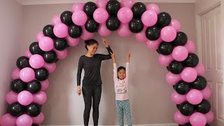 Download How to make balloon arch without stand? Video