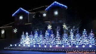 Download Frozen Christmas Lights (Let It Go) Video