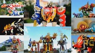 Download All DX Gattai Bakuryuu Sentai Abaranger 2003! DX 爆竜戦隊アバレンジャー! Power Rangers Dino Thunder Megazord! Video